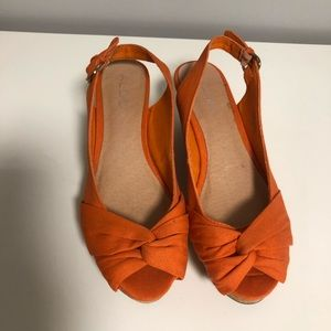 Aldo - Orange slingback sandal